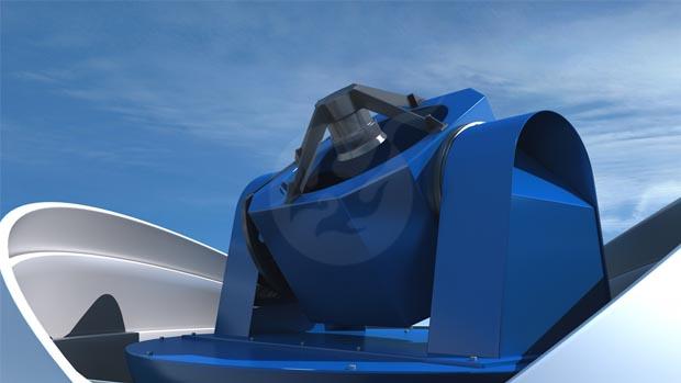 燃动数字承接中科院南极望远镜三维交互演示项目