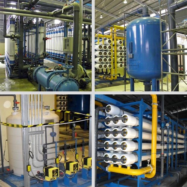 签约大型海水淡化工程设备及工艺流程三维动画演示项目