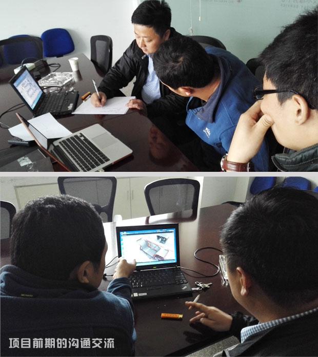 签约中铁十四局管廊模具施工工艺及工法三维动画项目