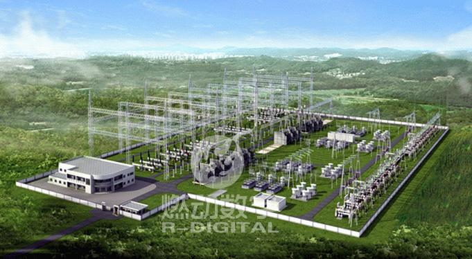 為電力行業提供3D虛擬配電站仿真系統