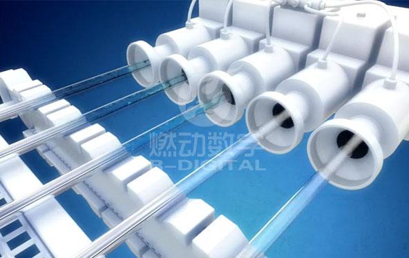 生產流程三維動畫-鋼管生產線仿真演示
