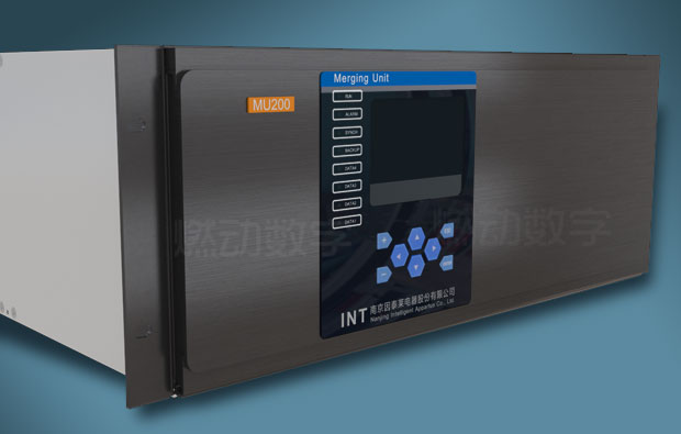 智能配电站合并器三维动画仿真演示制作
