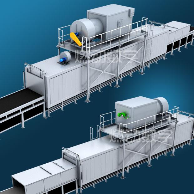 烘干機、干燥機等類型的設備三維動畫制作