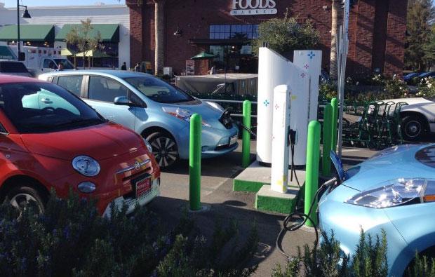 电动汽车充电桩产品三维仿真演示动画制作