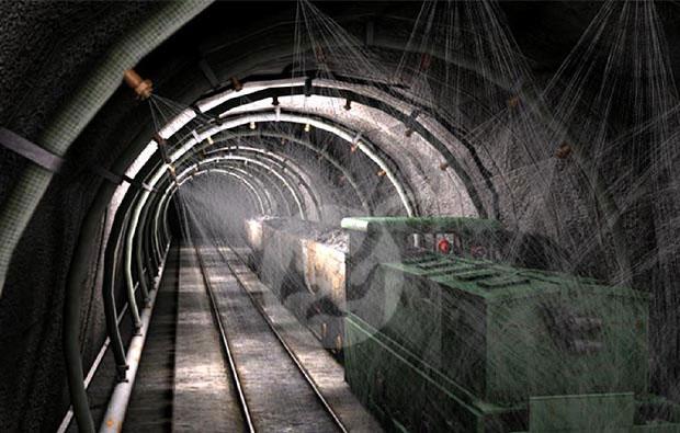 礦山礦難事故安全教育三維動畫