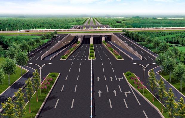 道路規劃施工三維演示