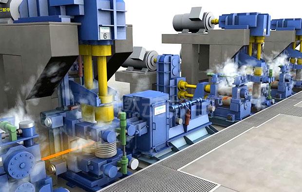 工业冶金制造三维动画制作