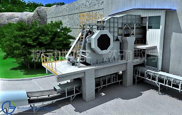礦山設備非標一體化三維解析動畫制作