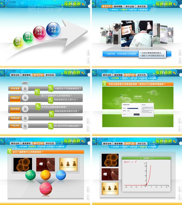 教学信息化多媒体演示——指数函数