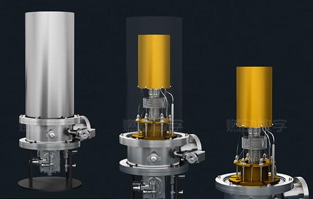 科技發明項目三維動畫演示——超導單光子探測器