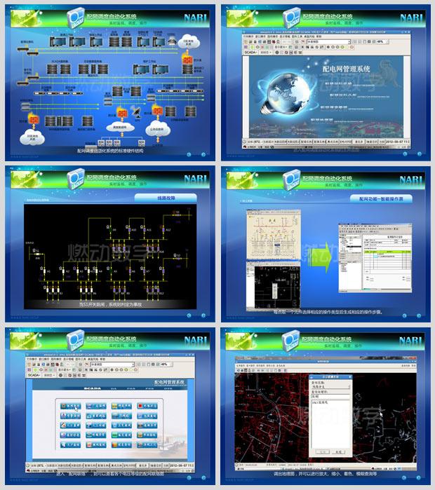 多媒體設計與制作——南瑞配網調度自動化系統介紹
