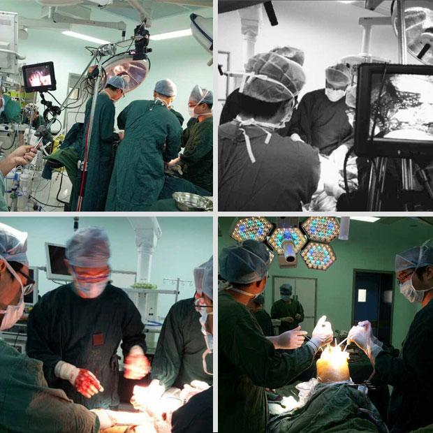 醫學手術及臨床教學影視拍攝