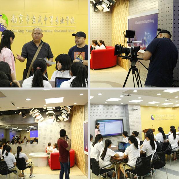 南京職業院校微課的拍攝和制作
