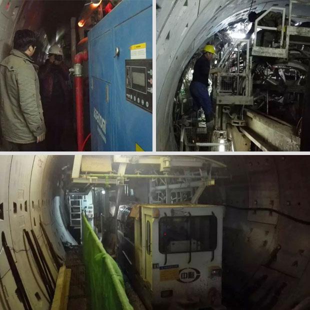 深入盾構地下施工現場探秘